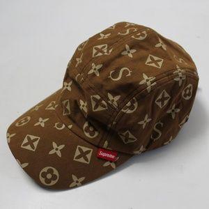 Supreme 2000 Ceased and Desist Monogram Camp Hat